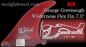 George Greenough Wilderness Flex 4A fin 7.0