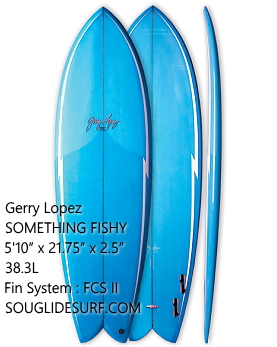 "Gerry Lopez SOMETHING FISHY 5'10""【送料無料】"
